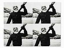 Andy Warhol, Jon Gould with Skis, 1976-1986