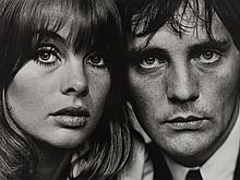 Terry O'Neill, Jean Shrimpton and Terence Stamp, London, 1963