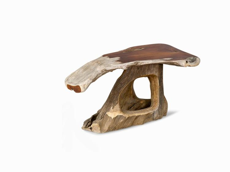 Alex Cayet, Narra Wood Desk, France, 2011