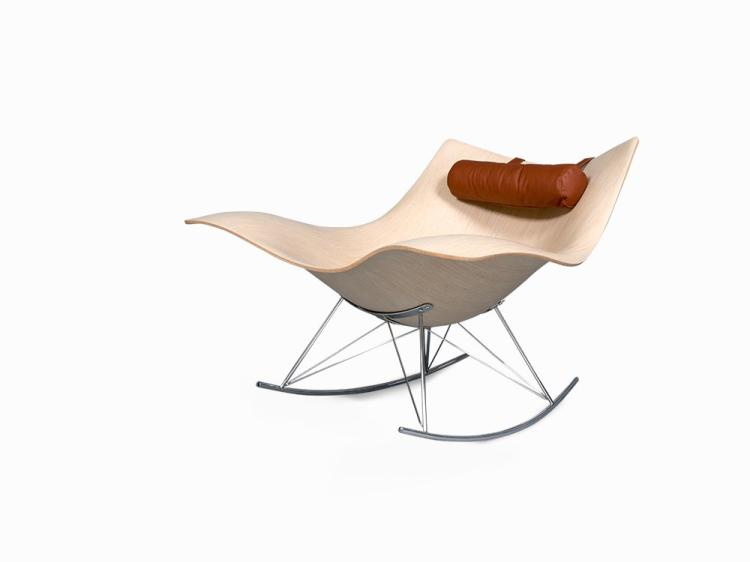 Thomas Pedersen, Stingray Rocking Chair, Denmark, 2008
