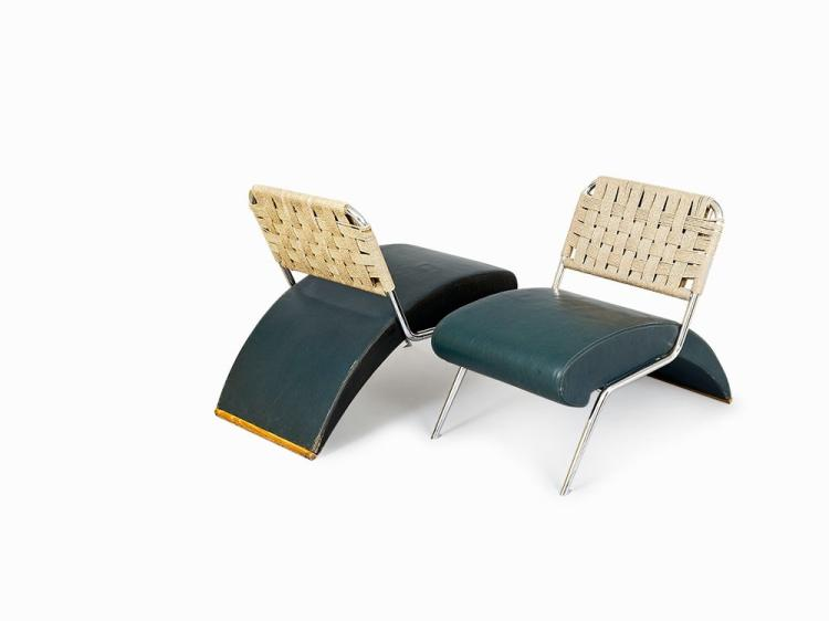 Pair of Moroso Chairs, Italy, c.1960