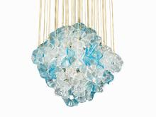 """""""Jellyfish"""" Chandelier in the Style of Venini, Italy, 1970s"""