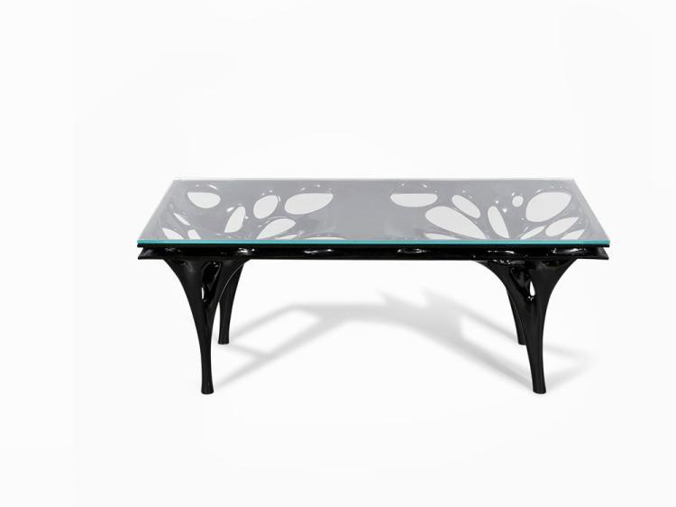 "Il Hoon Roh, ""Fabric Table Radiolaria"", England, Contemporary"