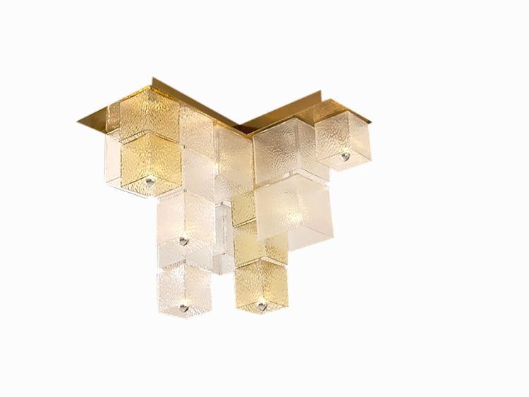 Cube ceiling light