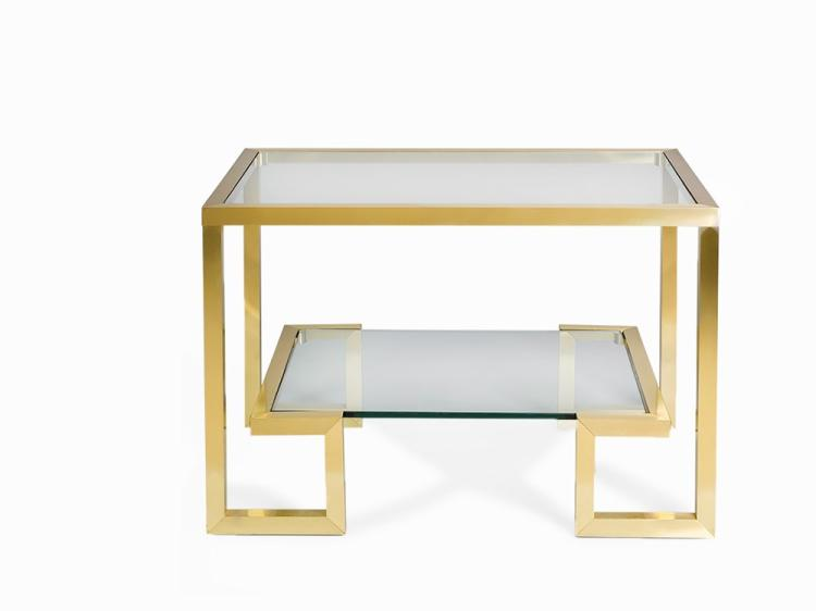 Pair of Console tables, France, 1970s