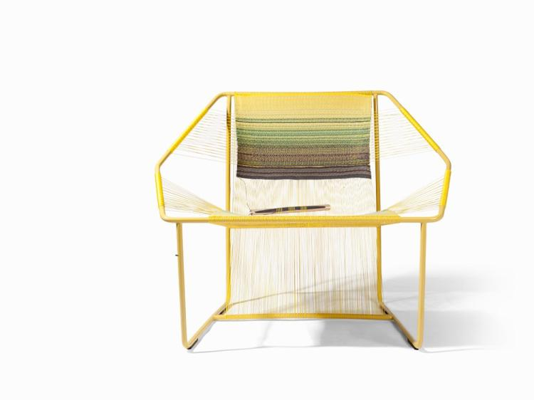 Marina Dradomirova, Fuchila Chair Yellow, 2016