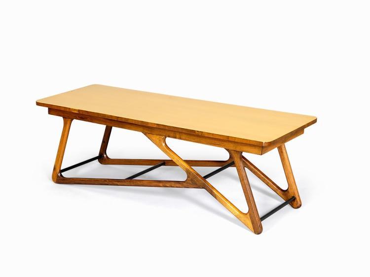Honey Caviuna Centre Table, Brazil, 1950s