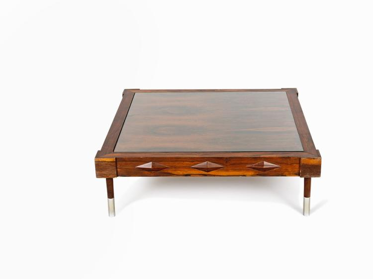 Low Centre Table with Diamond Motif, Brazil, 1950s/60s