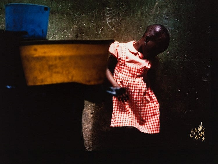 Howard T. Cash (b. 1953), 'A Moment's Pause', Nigeria, 1981
