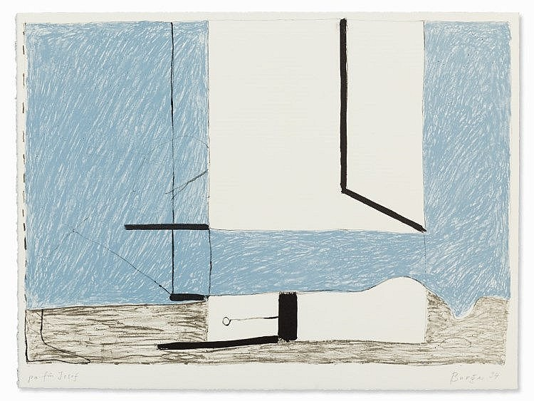 Walter Burger, 'Morgen', Lithograph, Switzerland, 1994