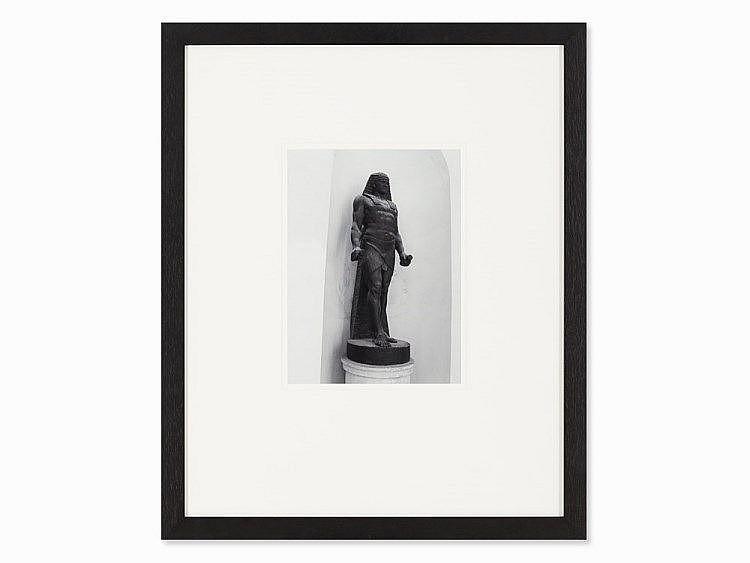 Victor Barcy, C-Print, Antinous as Osiris, c. 2010