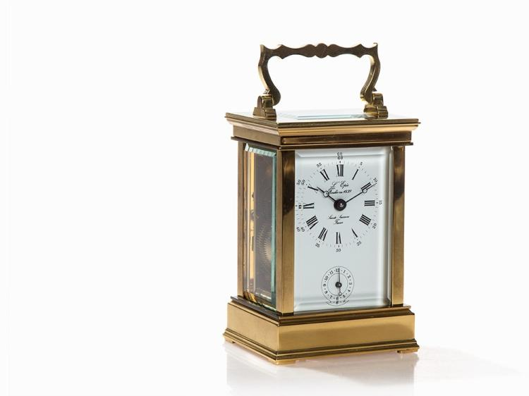 L'Epée, Officer's Travel Clock, France, Late 20th C.