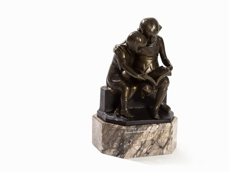 Victor Heinrich Seifert, 'Märchen', Bronze, 1st H. 20th C.