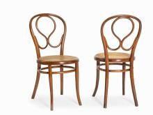 Thonet, A Pair Bentwood Chairs Model 20, Vienna, 1870-71