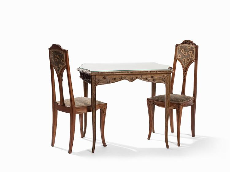 Louis Majorelle, Art Nouveau Dining Room Set, c. 1900