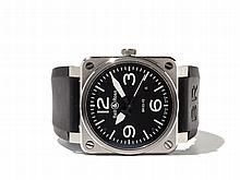 Bell & Ross Aviation Type Wristwatch, Switzerland, Around 2010
