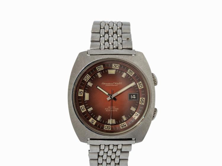 IWC Aquatimer Wristwatch, Switzerland, 1973