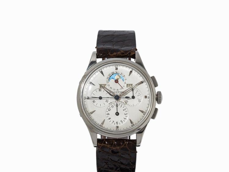 Universal Geneve Tri-Compax Chronograph, Switzerland, 1952-1955