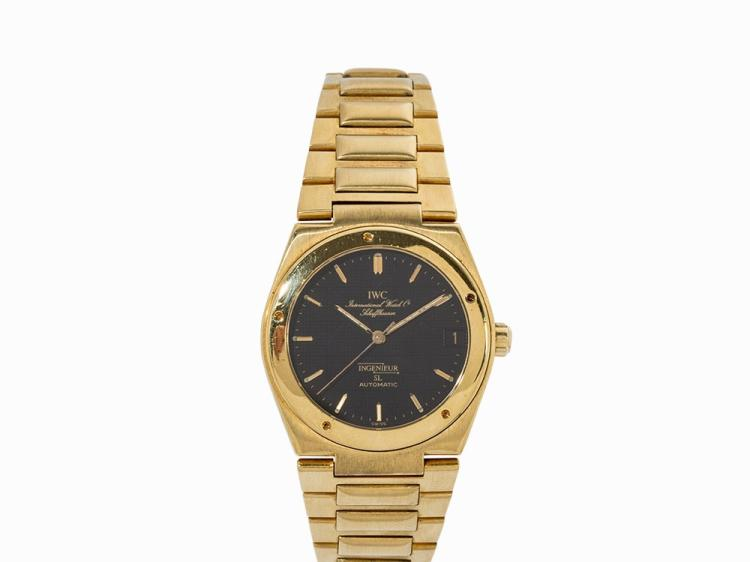 IWC Ingenieur SL, 18K Yellow Gold, Switzerland, c. 1986