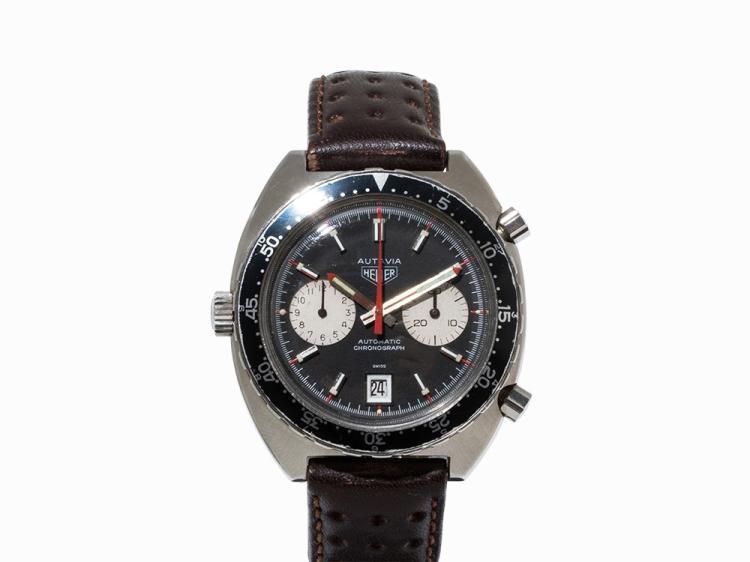 Heuer Autavia Chronograph, Switzerland, 1970s