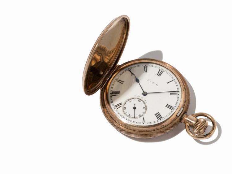 Elgin Natl Watch Co. Pocket Watch, USA, c. 1935-1940