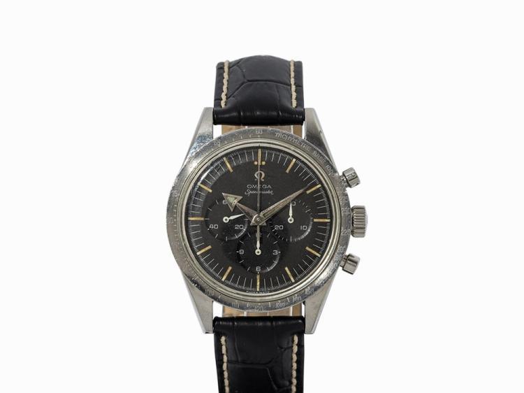 Early Omega Speedmaster Chronograph, Switzerland, 1957