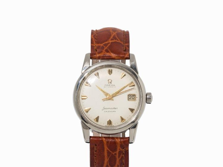 Omega Seamaster Vintage Wristwatch, Switzerland, 1960s