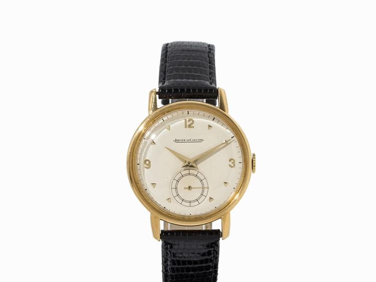 Jaeger Lecoultre Wristwatch, 18K Gold, Switzerland, 1960s