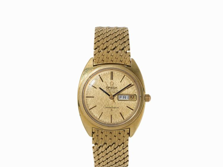 Omega Constellation Chronometer, 18K Gold, Switzerland, 1969