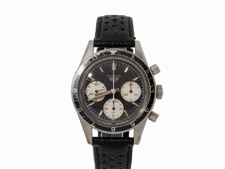 Heuer Autavia Jochen Rindt Chronograph, Switzerland, c. 1968