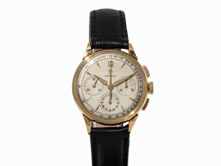 Omega Chronograph, Switzerland, c. 1956