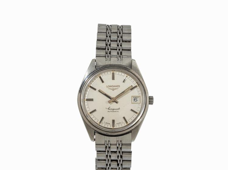 Longines Conquest Wristwatch, Switzerland, c. 1969