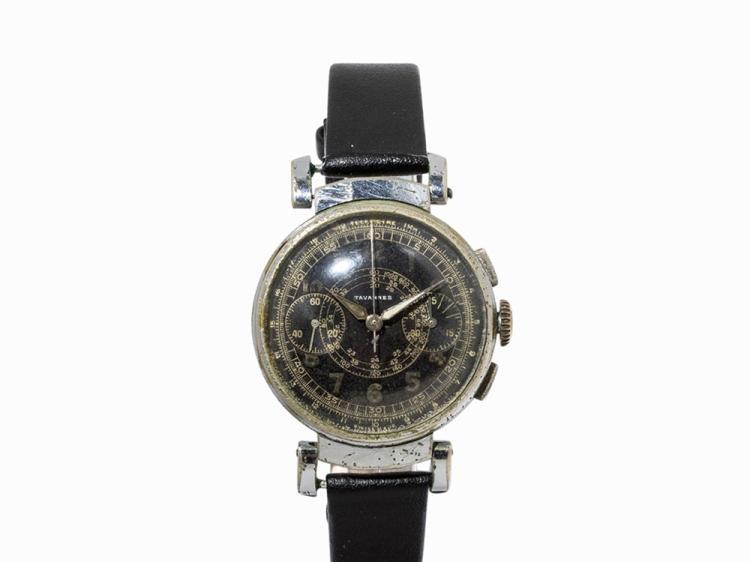 Tavannes Vintage Chronograph, Switzerland, c. 1940