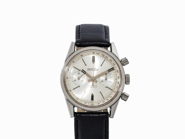 Herodia Incabloc Chronograph, Switzerland, 1960s