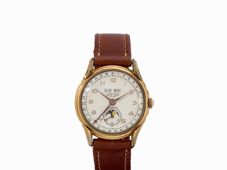 Heuer Leonidas Wristwatch, Switzerland, c. 1955