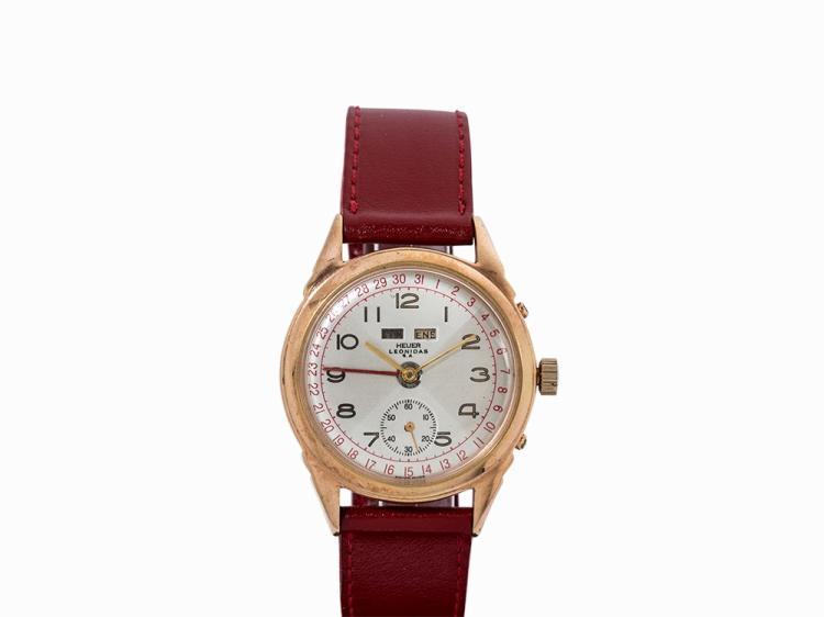 Heuer Leonidas Wristwatch, Switzerland, 1950s