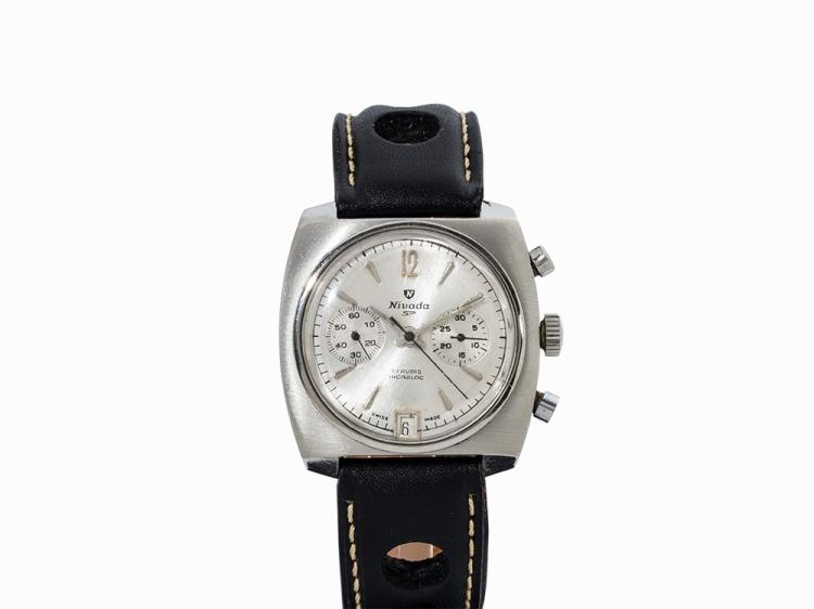Nivada Chronograph, Switzerland, c. 1970