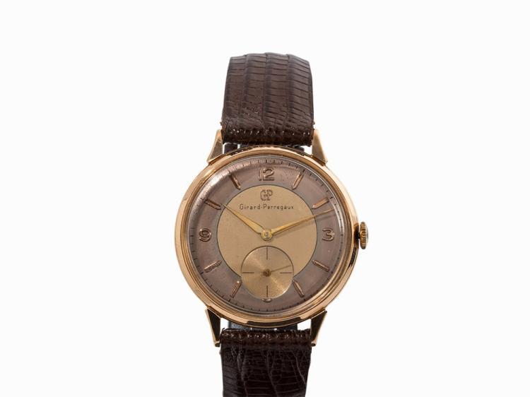 Girard-Perregaux Vintage Wristwatch, 18K Gold, c. 1960
