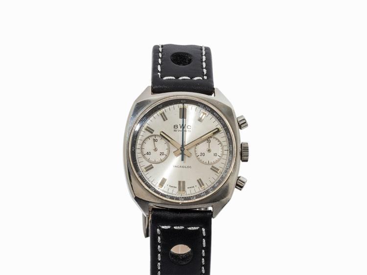 BWC Incabloc Chronograph, Switzerland, 1970s