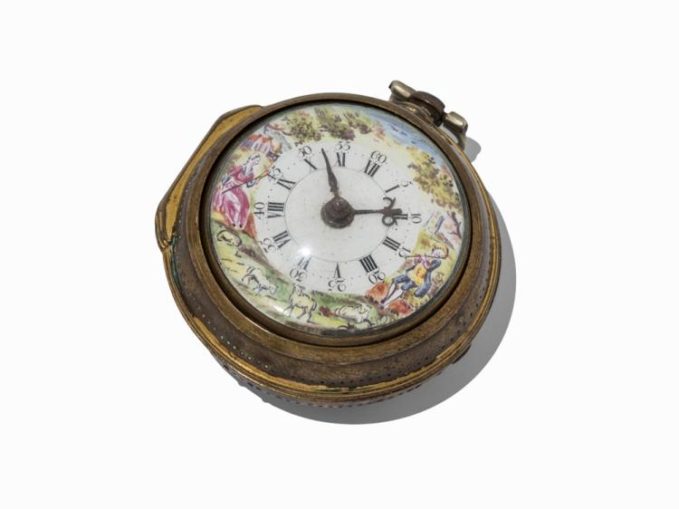 Edward Pamer London Pocket Watch, c. 1800