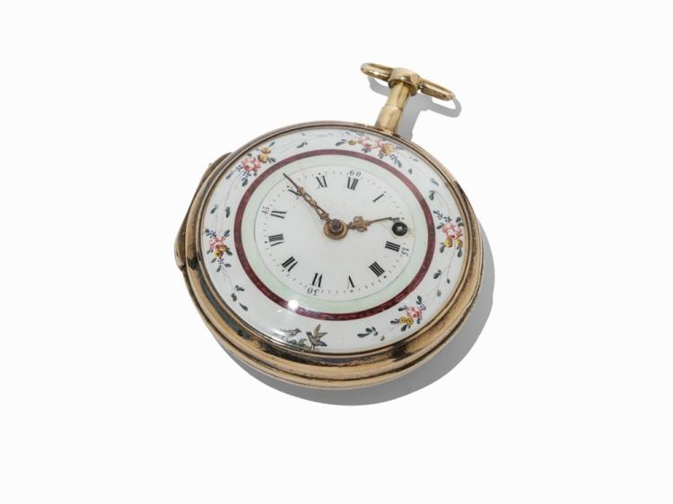 Swiss Spindle Pocket Watch, c. 1850
