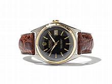 Rolex Datejust Black Dial, Ref. 5031, Switzerland, Around 1950