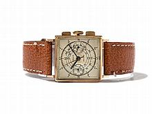 Rolex Square Precision Chronograph, Ref. 3529, Around 1935