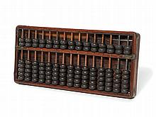 Traditional Wooden Suanpan Abacus, China, Qing, 19th C