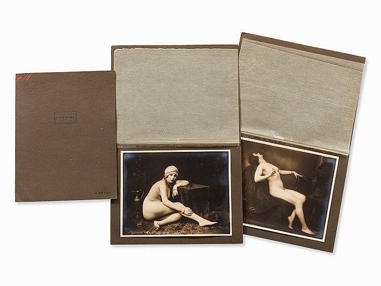 Julien Mandel (1872-1935), 3 Female Nudes, France, 1920s