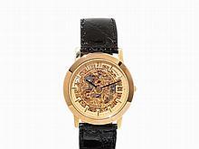 Eterna-Matic Gold Skeleton Wristwatch, Switzerland, c. 1990