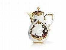 Meissen Pear-Shaped Coffee Pot, c. 1740-50