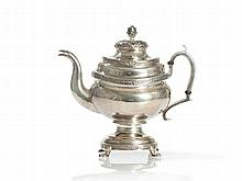 Tiffany & Co., Sterling Silver Tea Pot, New York, circa 1900