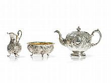 Marshall & Sons, Sterling Silver Set, Edinburgh, 1835