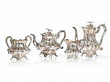 Sterling Silver Tea and Coffee Set, Birmingham, 1837